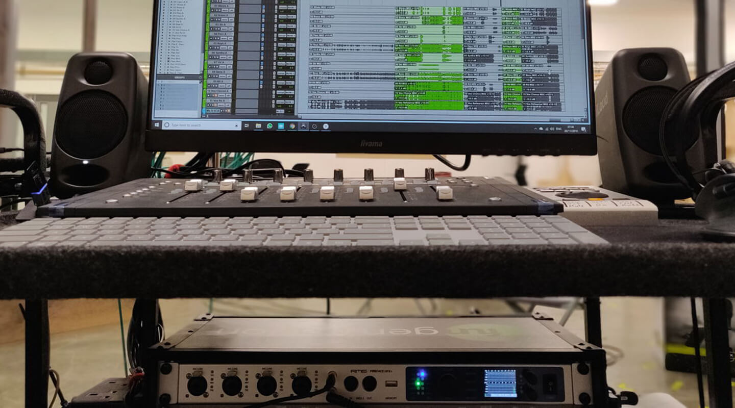 RME's UFX+ Makes Recording Live Musicians Seamless for Victor Chaga During 'Cats' Film Production