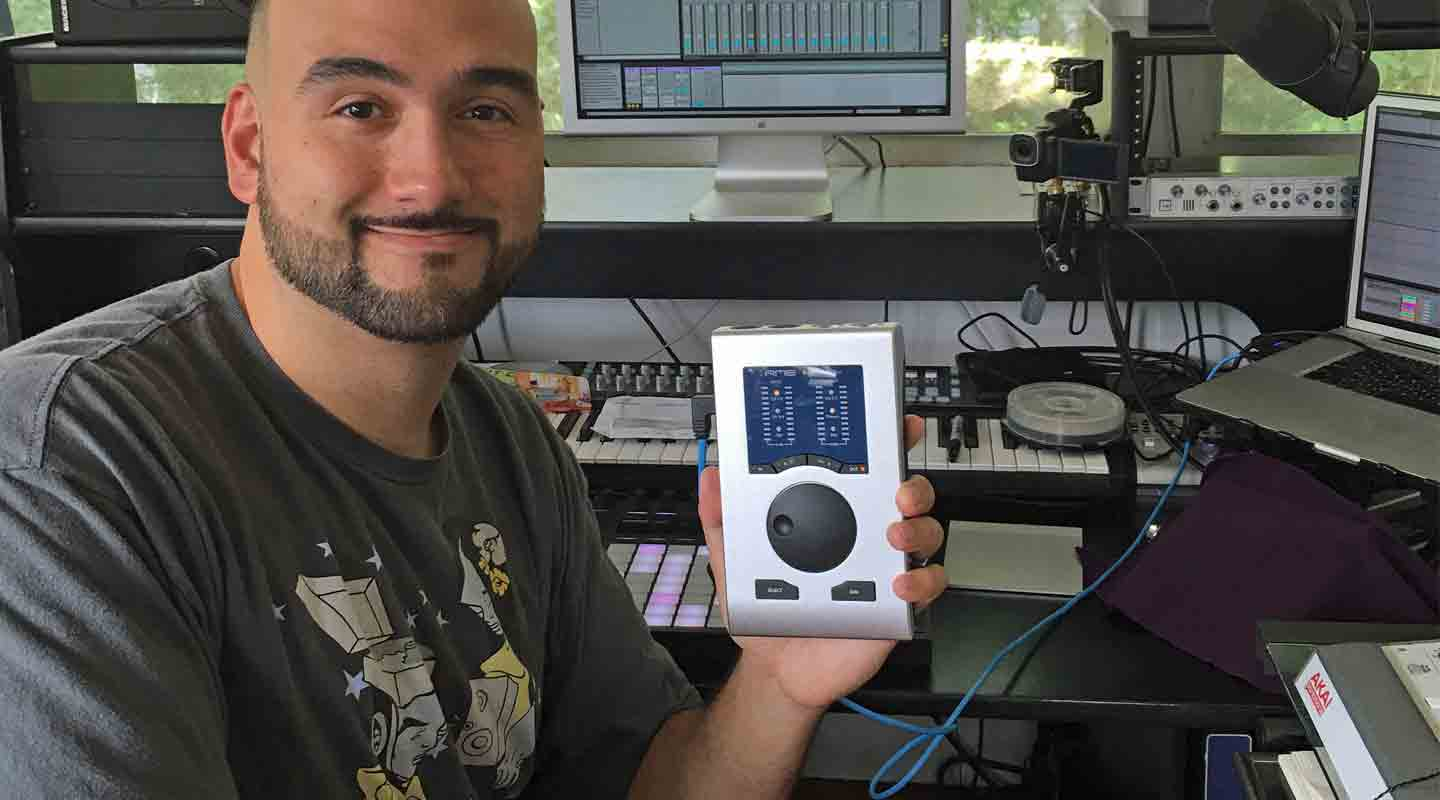 RME Babyface Pro Keeps DiViNCi on the Cutting Edge