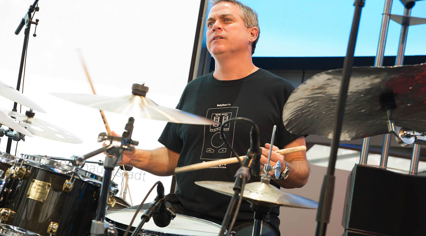 Karl Latham: Beating the Drum