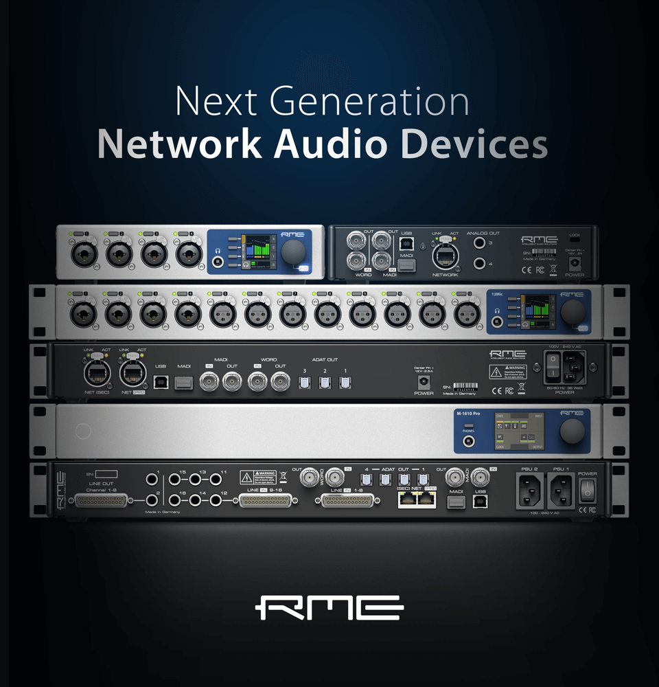 Next Generation of Network Audio
