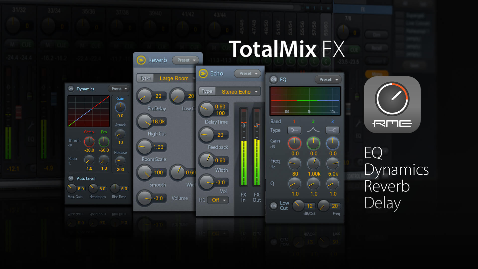 TotalMix FX DSP Effects