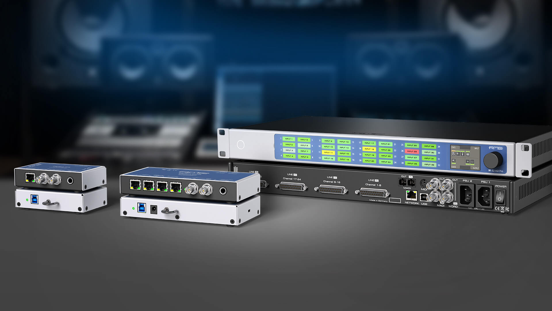 RME Audio AVB & Dante Solutions