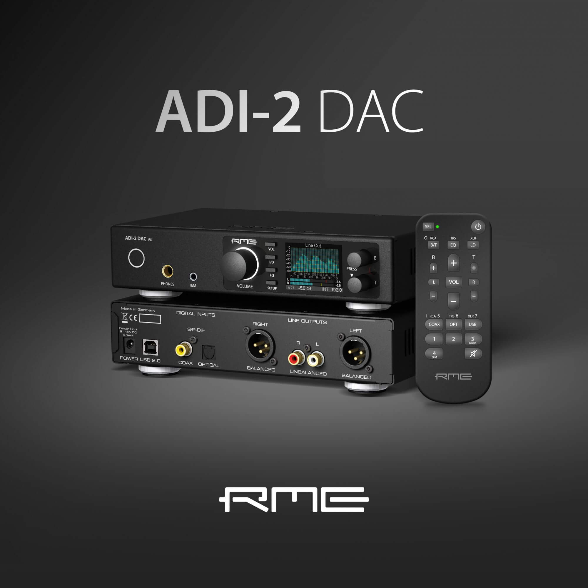 The new ADI-2 DAC FS