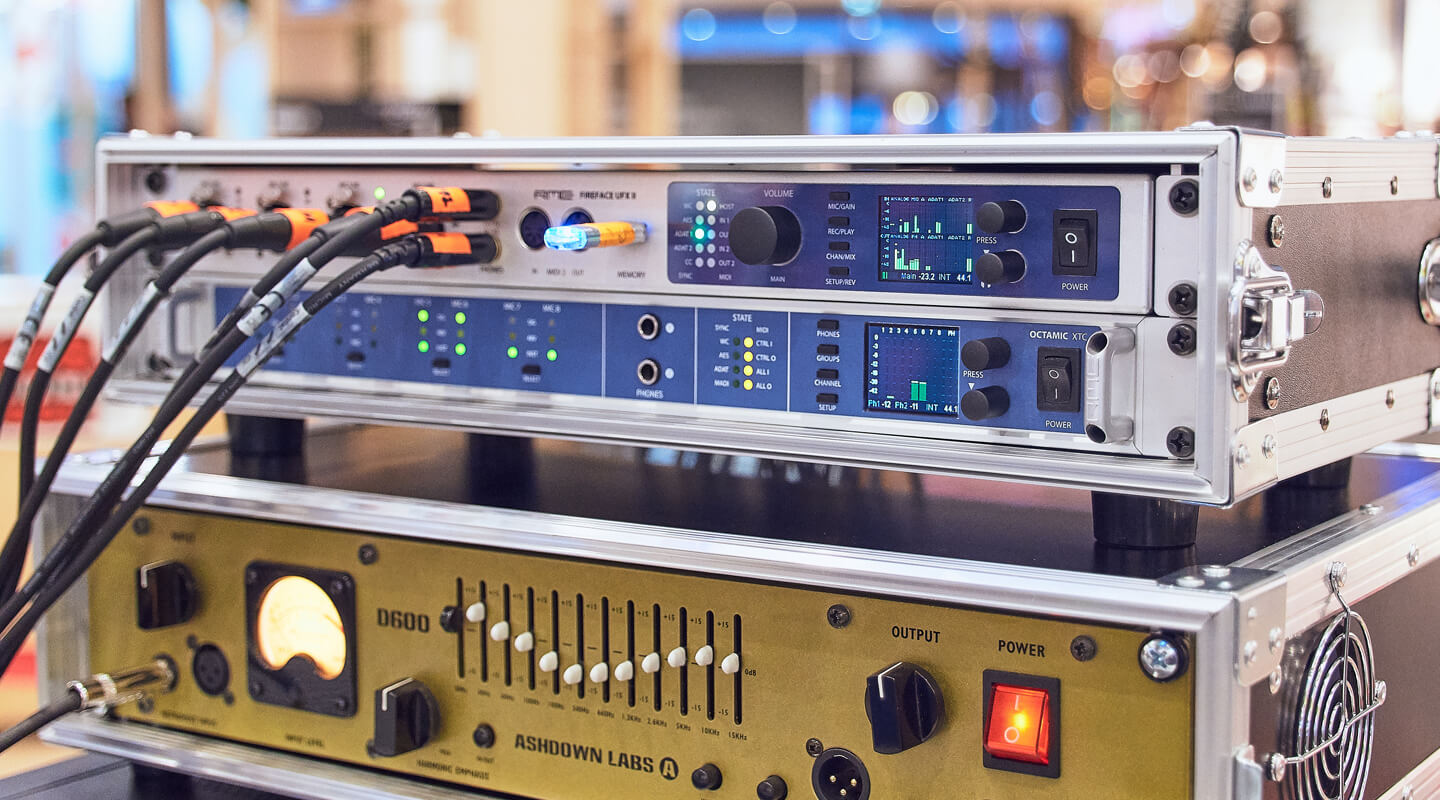 8-Channel Mic Preamp & AD Converter with Multi-Format I/O