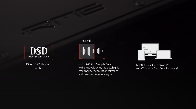 ADI-2 DAC Features