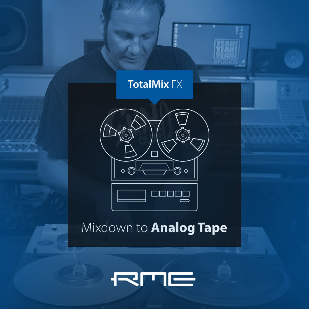 Mixdown to Analog Tape in TotalMix FX