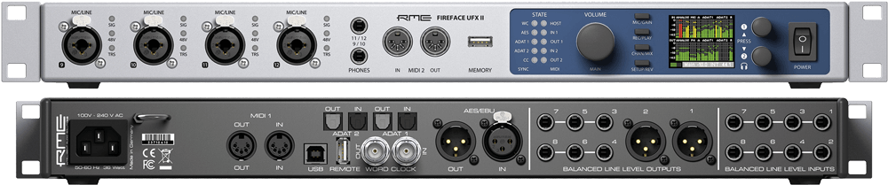 RME FIREFACE 800 AUDIO INTERFACE PNP DRIVERS FOR WINDOWS XP