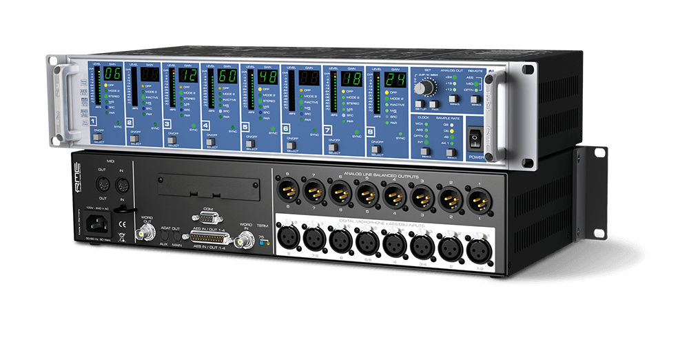 High-end 8-Channel AES42 Interface for Digital Microphones